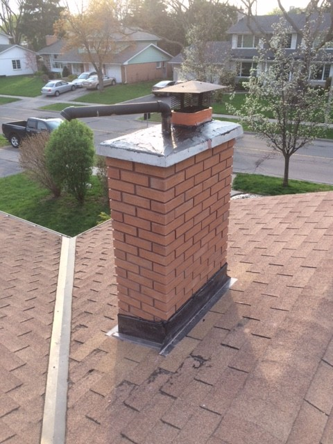 Repairing Wood Burning Fireplace And Furnace Exhaust   The ...